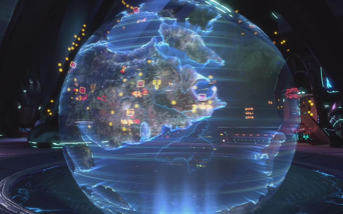 voorbeeld hologram
