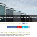 7 technieken om schoon drinkwater uit de lucht halen