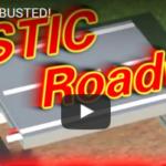 Geen asfalt meer, maar plastic wegen